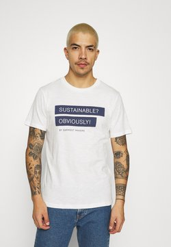 BY GARMENT MAKERS - UNISEX RAY - T-shirt print - white