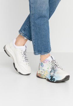 Bronx - BAISLEY - Sneakers laag - offwhite/multicolor