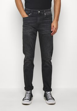 Calvin Klein Jeans - SLIM TAPER - Slim fit jeans - washed black