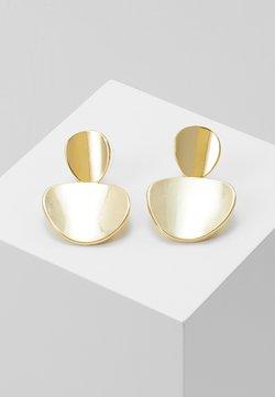 SNÖ of Sweden - AVERY PENDANT EAR  - Earrings - gold-coloured