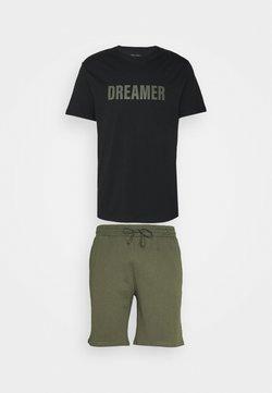 Pier One - Pyjama - black/khaki