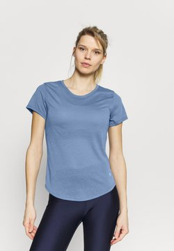 Under Armour - STREAKER - T-Shirt basic - mineral blue