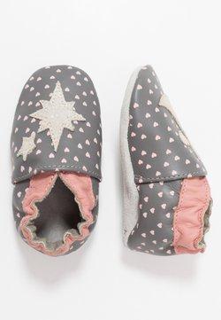 Robeez - FAIRY - Chaussons pour bébé - gris/fonce/bronze