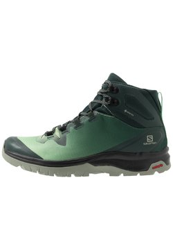 Salomon - VAYA MID GTX - Hikingskor - green gables/spruce stone/shadow