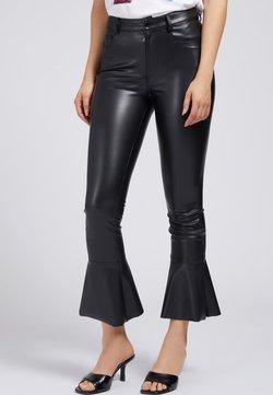 Guess - Pantalon en cuir - schwarz