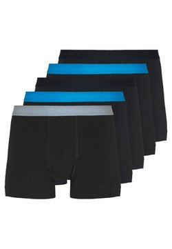 Pier One - 5 PACK - Shorty - black/multicoloured