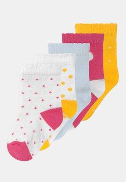 Petit Bateau - 5 PACK - Socken - white/yellow