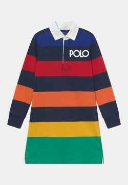 Polo Ralph Lauren - RUGBY DAY - Jerseykleid - navy/multi-coloured