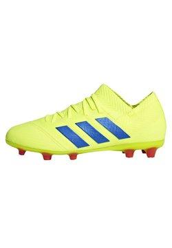 adidas Performance - NEMEZIZ 18.1 FIRM GROUND BOOTS - Fußballschuh Stollen - yellow