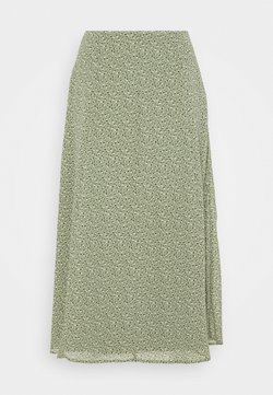 edc by Esprit - SKIRT - A-lijn rok - light khaki