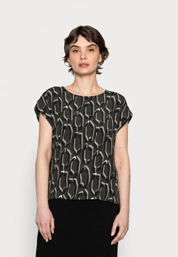 Opus - FELGA ETHNO - T-Shirt print - black oliv