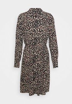 Vero Moda - VMSAGA COLLAR DRESS  - Blusenkleid - oatmeal