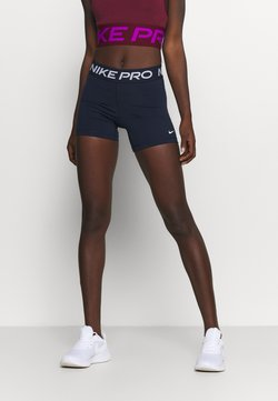 Nike Performance - SHORT - Tights - obsidian/white