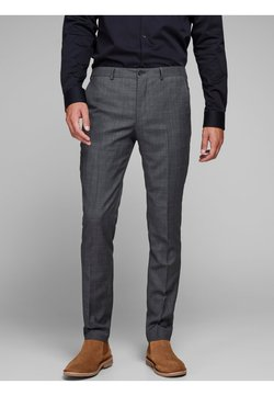 Jack & Jones PREMIUM - JPRSOLARIS  - Anzughose - dark grey