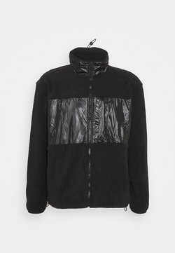 Rains - JACKET UNISEX - Fleece jacket - black