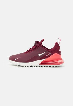 Nike Golf - AIR MAX 270 G - Golfschuh - dark beetroot/sail/pink salt