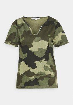 Pepe Jeans - CAMI - Camiseta estampada - forest green