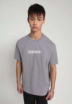 Napapijri - BEATNIK - T-shirt print - grey gull