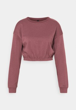 South Beach - OVERSIZED CROP - Sudadera - rose brown
