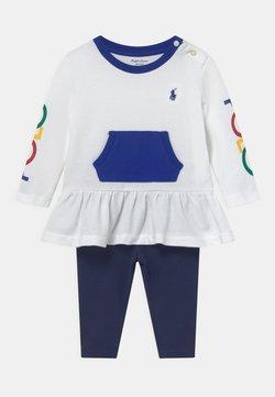Polo Ralph Lauren - SET - Leggings - Hosen - french navy/multi-coloured