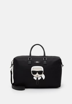 KARL LAGERFELD - K/IKONIK  - Torba weekendowa - black