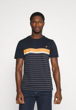 Pier One - T-Shirt print - dark blue/dark grey