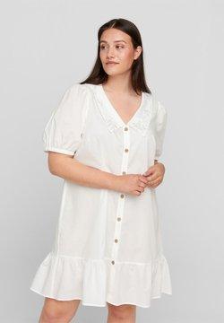 Zizzi - Abito a camicia - bright white