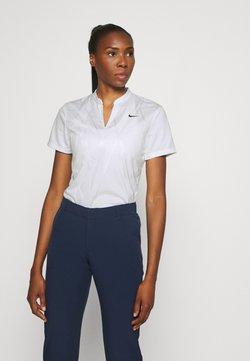 Nike Golf - DRY VICTORY - T-Shirt print - white/black