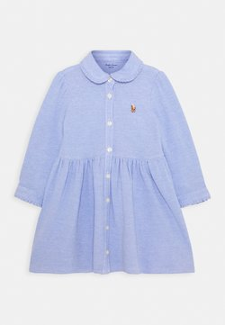 Polo Ralph Lauren - SOLID DRESS - Vestido camisero - harbor island blue