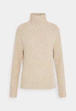 Polo Ralph Lauren - LONG SLEEVE - Pullover - dark oatmeal marl