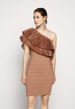 Hervé Léger - FRINGE GOWN - Cocktailkleid/festliches Kleid - rose gold