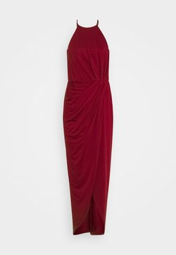 Nly by Nelly - TWISTED SPORTSCUT GOWN - Occasion wear - burgundy