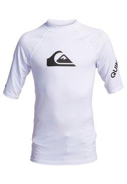 Quiksilver - KURZÄRMLIGER RASHGUARD MIT UPF 50 FÜR JUN - T-shirt de surf - white