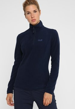 Jack Wolfskin - GECKO  - Fleecepullover - midnight blue