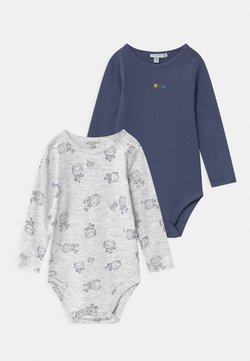 OVS - BOY 2 PACK - Body - blue indigo