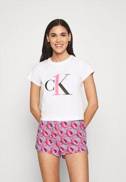 Calvin Klein Underwear - SLEEP PRIDE - Nachtwäsche Set - pink smoothie