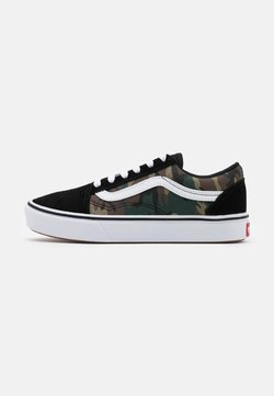 Vans - COMFYCUSH OLD SKOOL - Sneaker low - black/true white