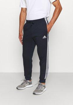 adidas Performance - 3 STRIPES  ESSENTIALS - Jogginghose - legend ink/white