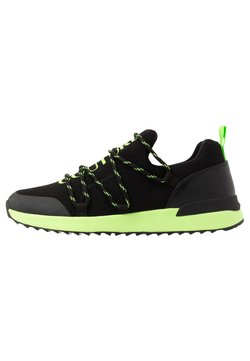 Versace Jeans Couture - Sneaker low - black/neon