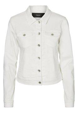 Vero Moda - VMHOT SOYA  - Veste en jean - white