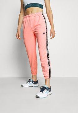 New Balance - RELENTLESS - Jogginghose - paradise pink heather