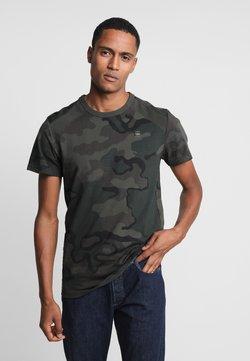 G-Star - SIPHON MOTAC R T S/S - T-Shirt print - dark combat/fearn