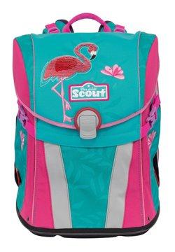 Scout - SUNNY SET 4-TEILIG - Schulranzen Set - glitter flamingo