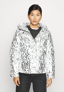 Calvin Klein Jeans - LOGO PUFFER - Winterjacke - silver
