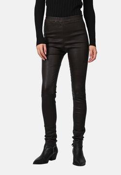 Oakwood - CASSIOPEE - Pantalon en cuir - brown
