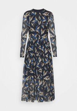 TOM TAILOR DENIM - PRINTED DRESS - Maxikleid - blue
