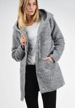 JDY - BIRKE - Krótki płaszcz - light grey