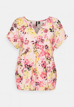 Vero Moda Tall - VMGIGI  - T-Shirt print - sepia rose