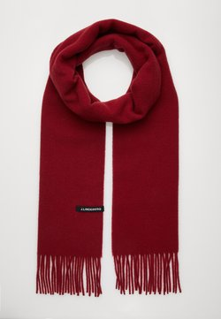 J.LINDEBERG - CHAMP SOLID SCARF - Écharpe - chilli red