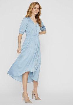 Vero Moda - MAXIKLEID V-AUSSCHNITT - Maxi-jurk - ashley blue